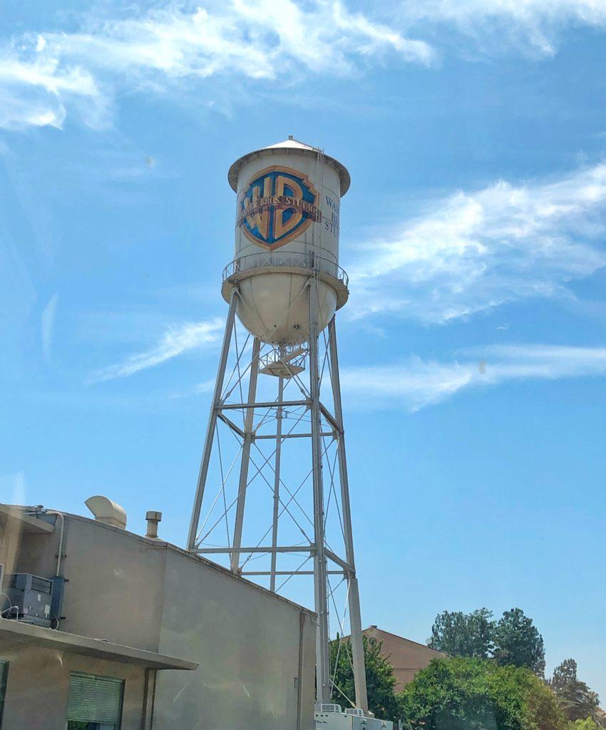 Warner Bros Tower in Los Angeles USA
