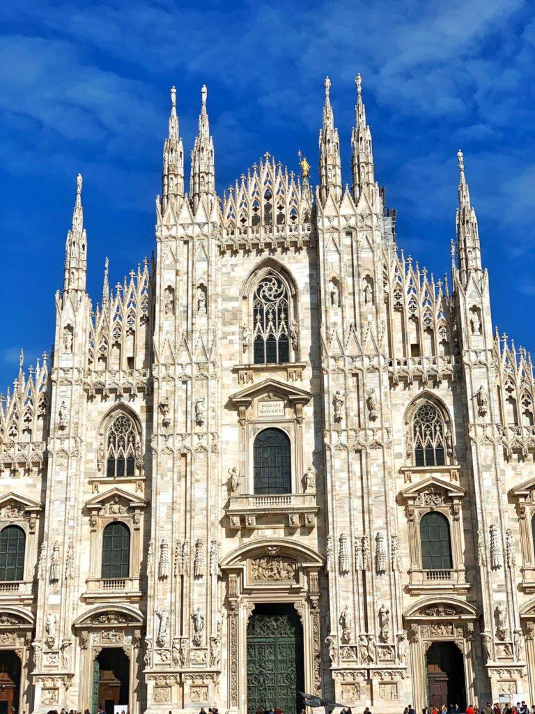 Duomo di Milano Cathedral in Milano Italy