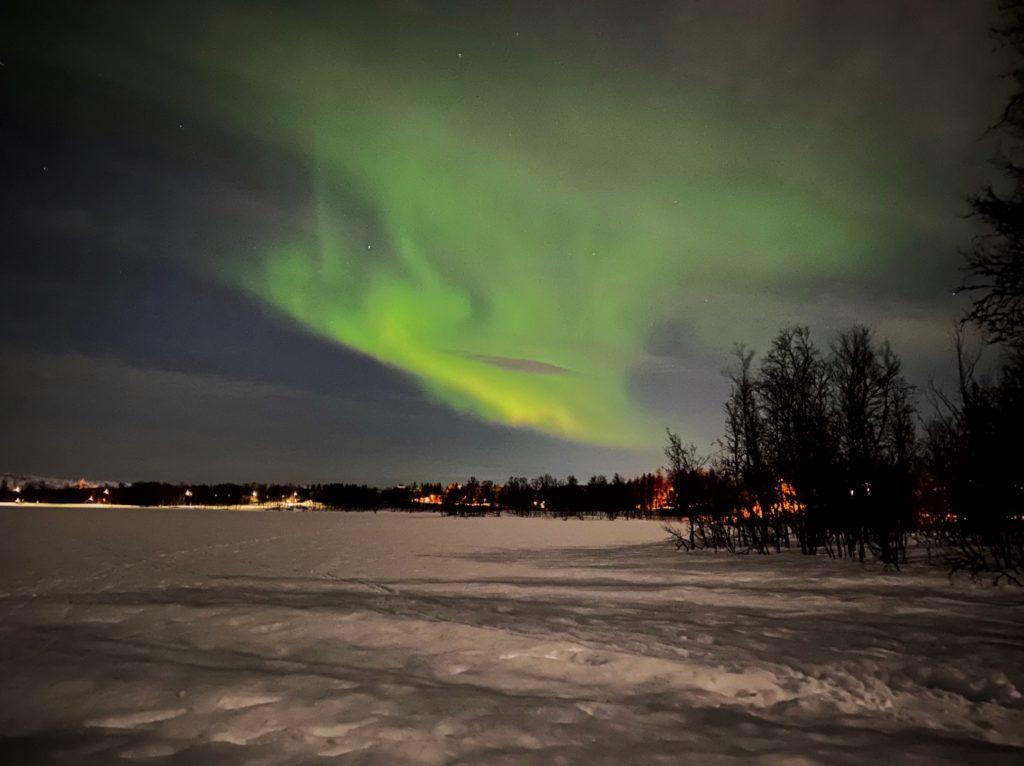 Northern Lights in Tromsø Norway