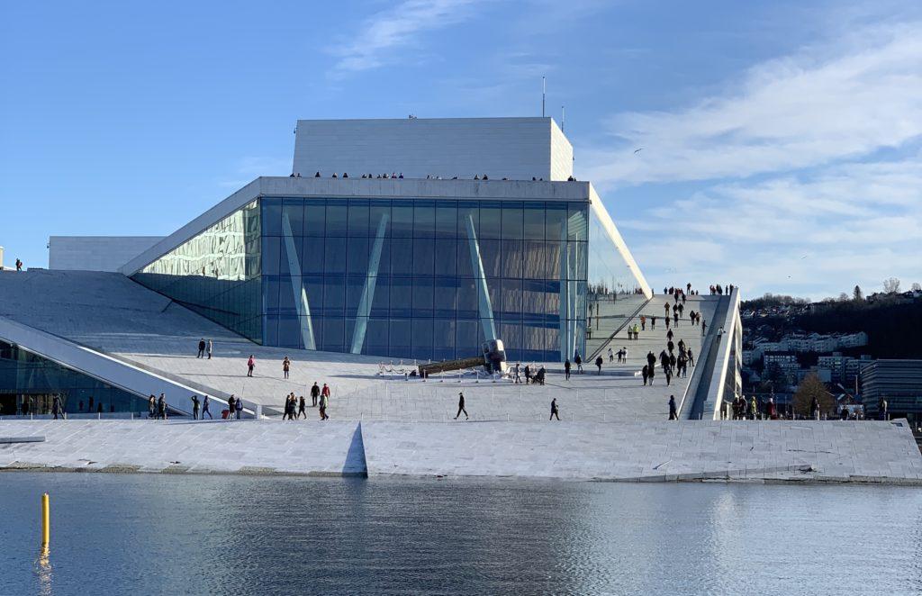 Oslo Opera House in Oslo Norway