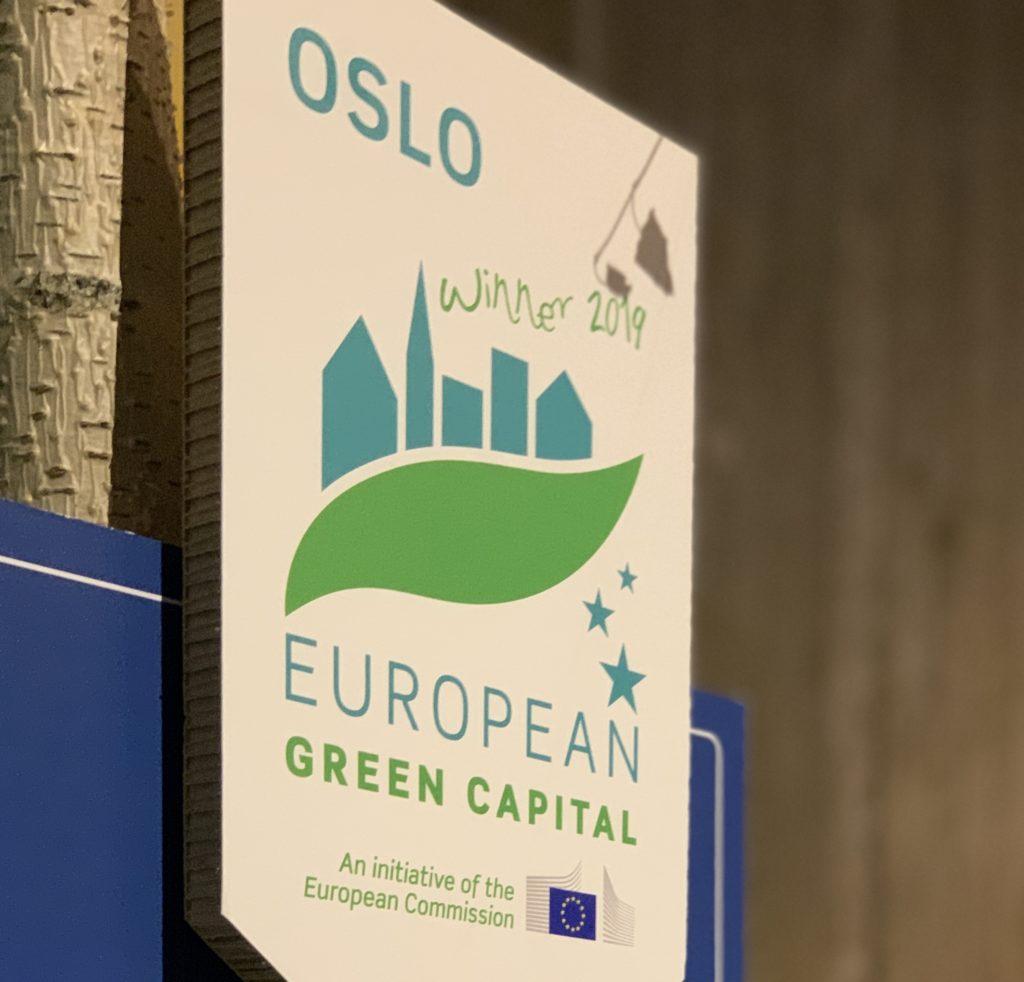 Label Oslo European Green Capital winner of 2019
